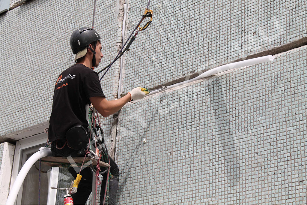 Герметизация швов панельного дома материалы